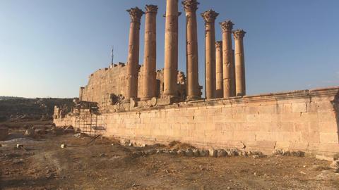Jerash, Jordan - ruins of an ancient city part 14 Live Action