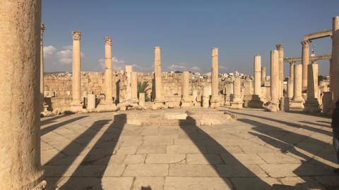 Jerash, Jordan - ancient buildings of ancient civilization part 19 Live Action