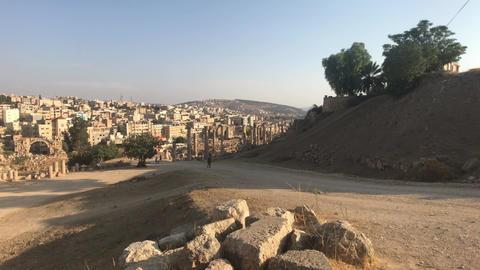 Jerash, Jordan - walls soaked in antiquity part 4 Live Action