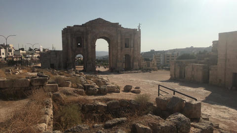 Jerash, Jordan - historical example of ancient urban development part 13 Live Action