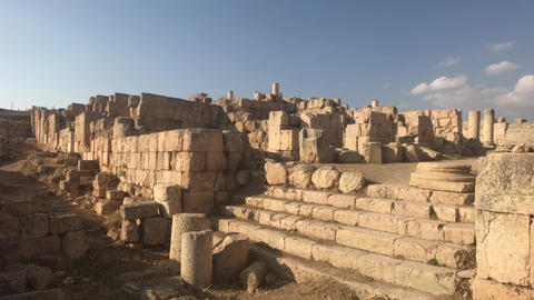 Jerash, Jordan - historical example of ancient urban development part 2 Live Action