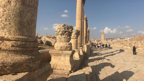 Jerash, Jordan - historical example of ancient urban development part 5 Live Action