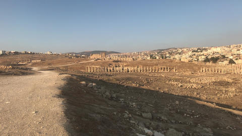 Jerash, Jordan - ruins of an ancient city part 5 Live Action