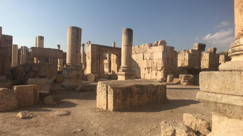 Jerash, Jordan - historical example of ancient urban development part 1 Live Action