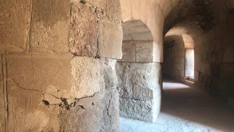 Jerash, Jordan - walls soaked in antiquity Live Action