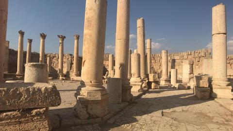 Jerash, Jordan - historical example of ancient urban development Live Action