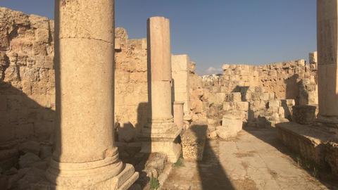 Jerash, Jordan - ancient buildings of ancient civilization part 18 Live Action