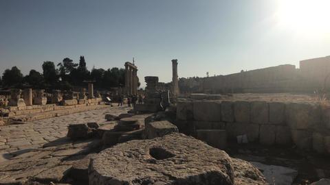 Jerash, Jordan - ancient buildings of ancient civilization part 14 Live Action