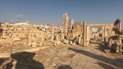 Jerash, Jordan - walls soaked in antiquity part 13 Live Action