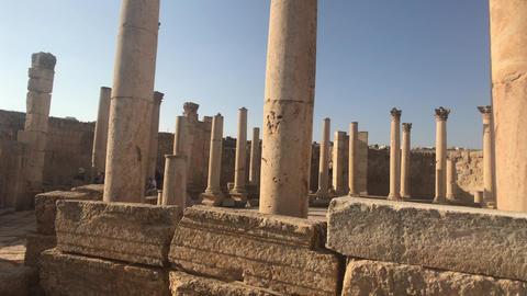 Jerash, Jordan - ancient buildings of ancient civilization part 20 Live Action