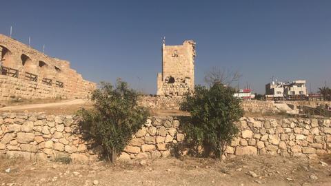 Jerash, Jordan - historical example of ancient urban development part 19 Live Action