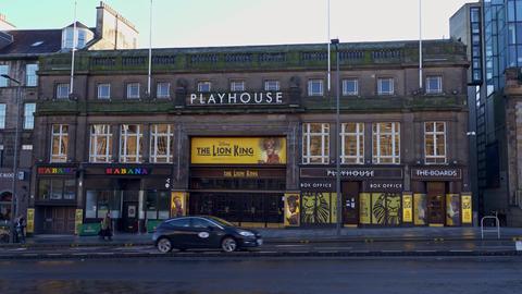 The Lion King Musical at Playhouse Edinburgh - EDINBURGH, SCOTLAND - JANUARY 10 Live Action