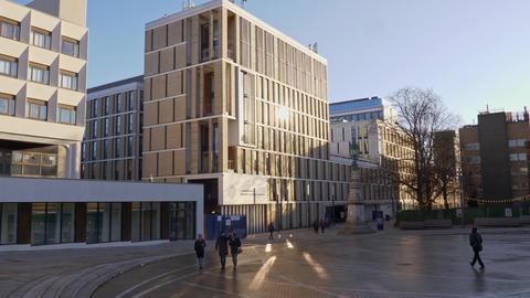 University of Edinburgh - EDINBURGH, SCOTLAND - JANUARY 10, 2020 Live Action