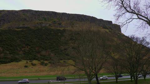 Holyrood Park in the historic district of Edinburgh - EDINBURGH, SCOTLAND - Live Action