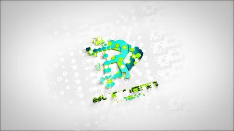Minimal Futuristic Logo Reveal After Effectsテンプレート