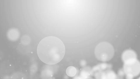 Particles white bright glitter bokeh dust abstract background loop 04 CG動画素材