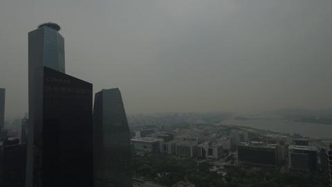 Seoul Yeouido IFC building Footage