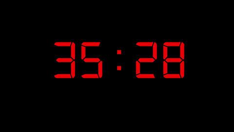 Countdown Timer CG動画素材