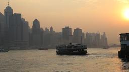 Ferry boat at Hong Kong