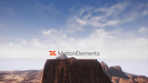 Desert Mountain Opener After Effects Template