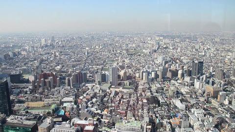 view of tokyo from Tokyo Metropolitan Footage