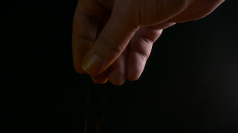 Man sprinkling tumeric 2 1 Footage