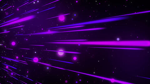 VJ dancing lights glow abstract background looped Animation