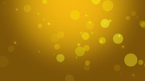 Falling abstract circles bokeh and particles. Shiny… Stock Video Footage