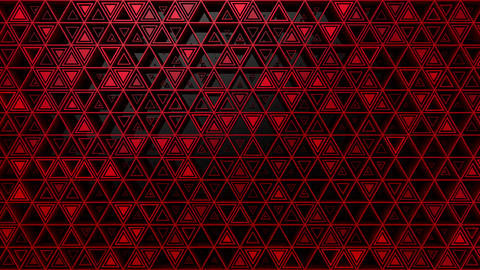 Background of Triangles Videos animados