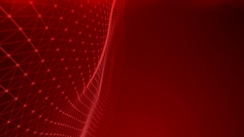 Red moving background,red grid on the screen Live Action
