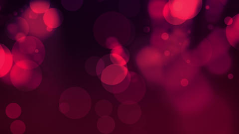 Pink Seamlessly Looping Particle Background With Copy Space Animation