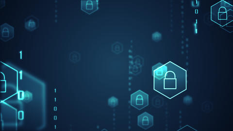 Technology security concept49 Animation