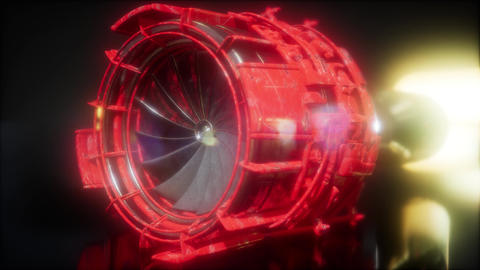 jet engine turbine parts Live Action