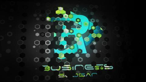 Futuristic Minimal Logo Reveal Premiere Pro Template