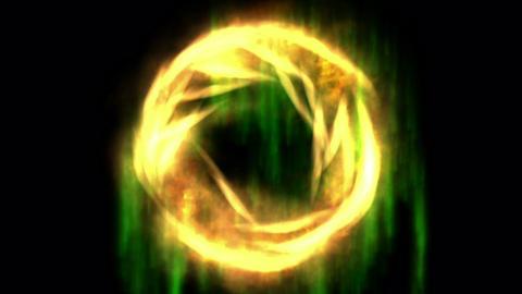 Digital Animation of a mystic Swirl Animation