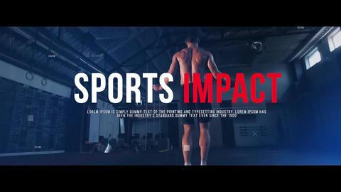 Sports Impact Premiere Pro Template