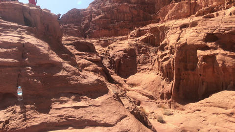 Wadi Rum, Jordan - Jeep safari in the desert with red sand part 10 Live Action