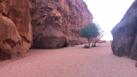 Wadi Rum, Jordan - whimsical cliffs created by time in the desert part 10 Live Action