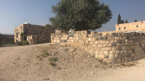 Umm Qais, Jordan - ruins of an old fortress part 8 Live Action