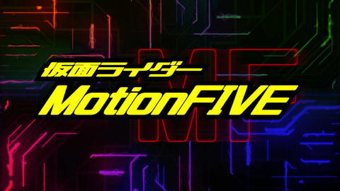 KamenRider Masked rider OP title Apple Motion Template