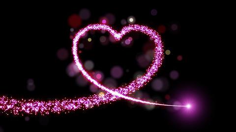 Heart light Animation
