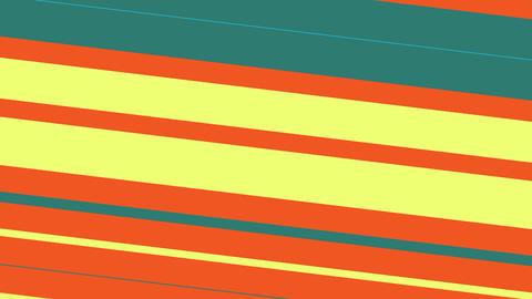 Simple Abstract Animation Of Colorful Lines Patterns Moving Diagonally Animation