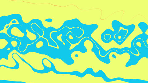 Simple Abstract Animation With Liquid Elements Fluid Colorful Animation