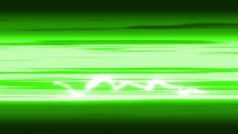 緑 流線 スピード線 ライン アニメーション CG動画