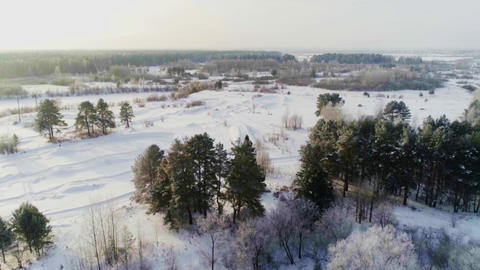 SALE! Winter And Snow Drone Footage 2