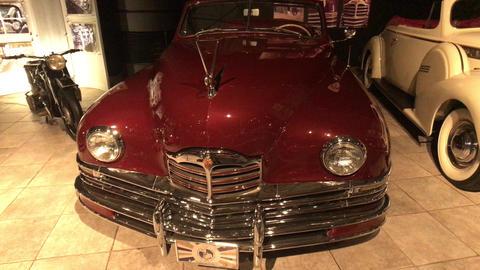 Amman, Jordan - October 20, 2019: Royal Automobile museum retro cars with Live Action
