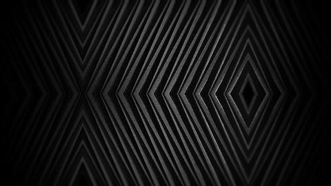 Geometric Dark Motion Pattern Animation