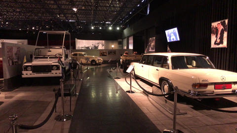 Amman, Jordan - October 20, 2019: Royal Automobile museum Family's favourite Live Action