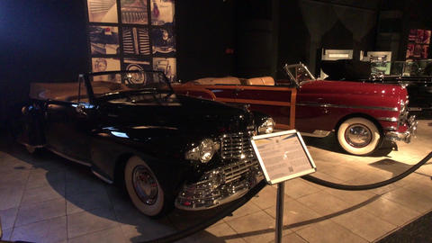 Amman, Jordan - October 20, 2019: Royal Automobile museum famous family sports Live Action