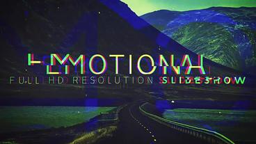 Emotional Slideshow After Effectsテンプレート